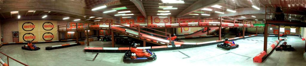 Gokart i Hjørring Bowling & Gokart Center